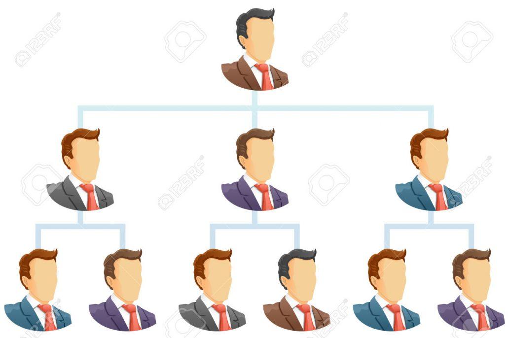 تفاوت مدیریت و رهبری - سلسله مراتبی
