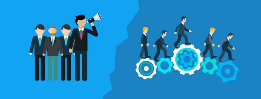 تفاوت مدیریت و رهبری در کسب و کار