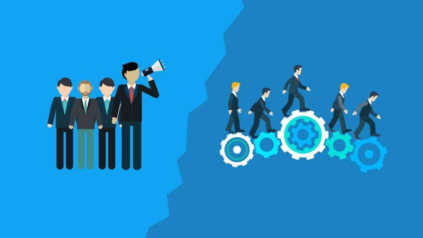 شرح کامل تفاوت مدیریت و رهبری