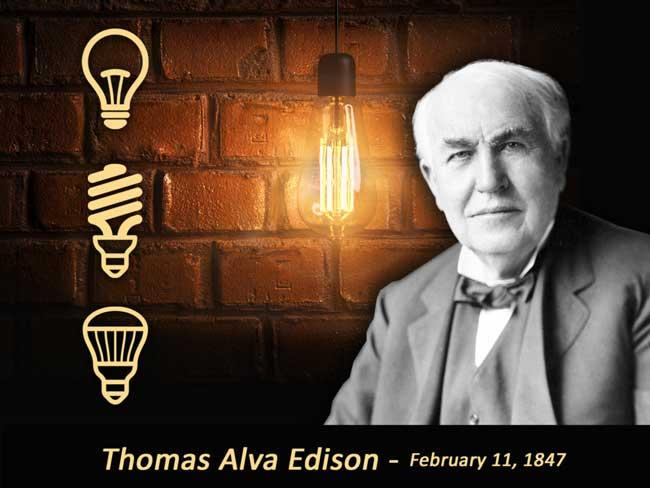 زندگی نامه توماس ادیسون اول