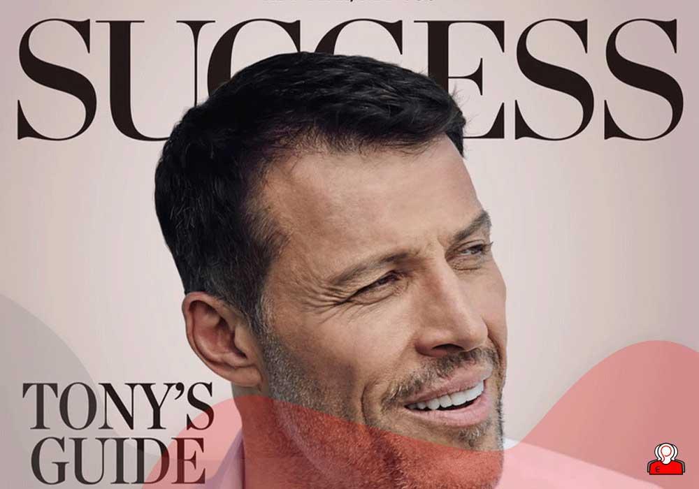 آنتونی رابینز در مجله موفقیت