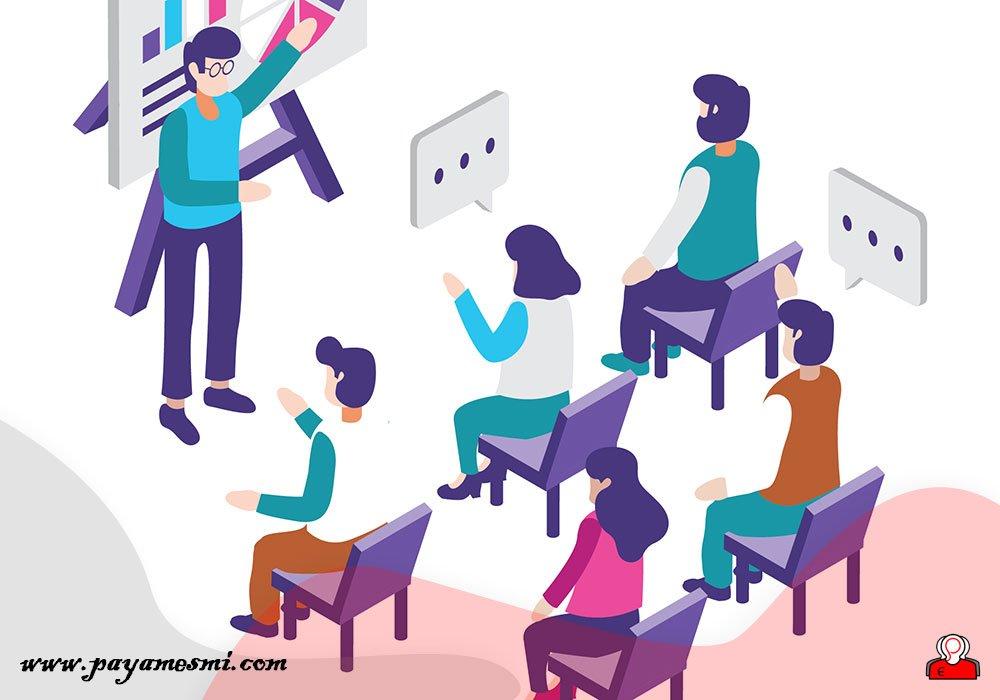 شرکتکنندگان خود را بحث مشارکت دهید
