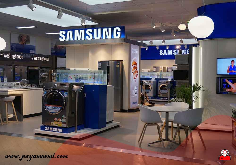 محصولات شرکت سامسونگ