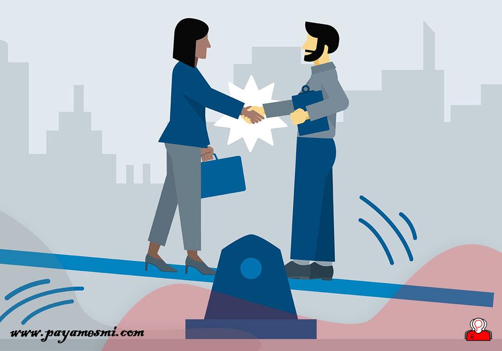 برقراری تعادل در مذاکره