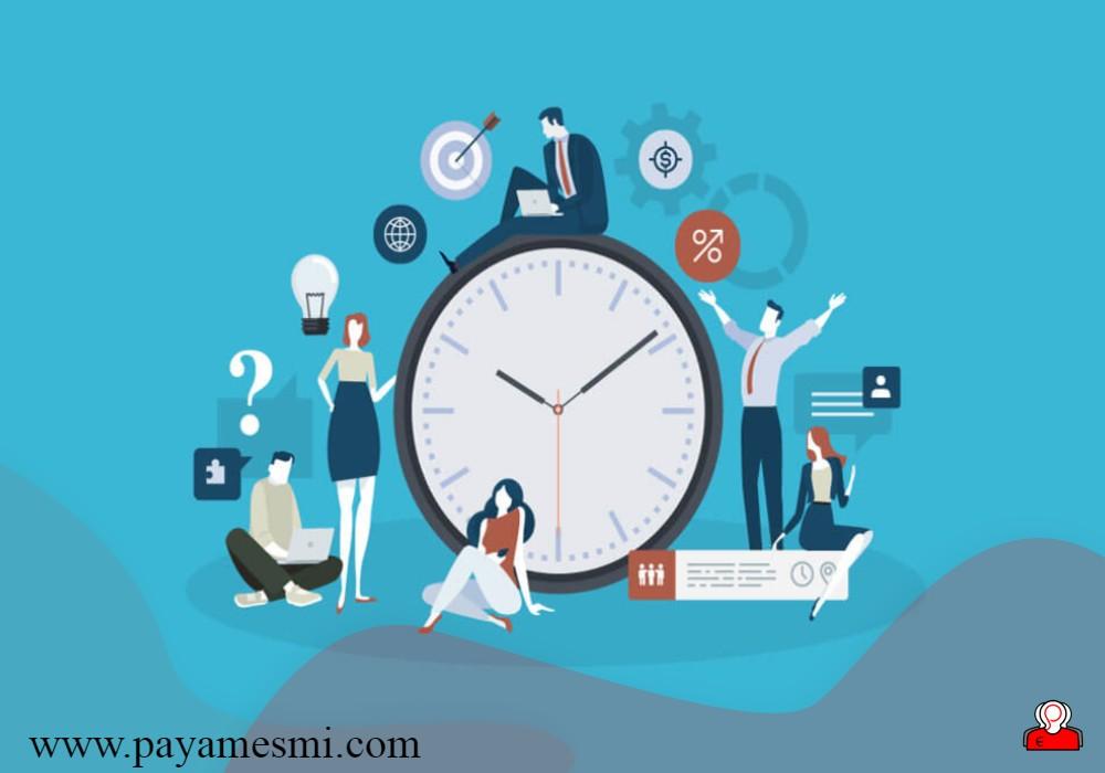 ایجاد انگیزه برای ردگیری زمان