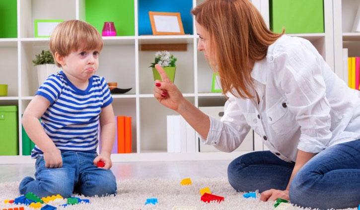آموزش راههای کنترل خشم در برابر کودکان