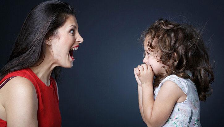 کنترل خشم والدین در مقابل کودکان