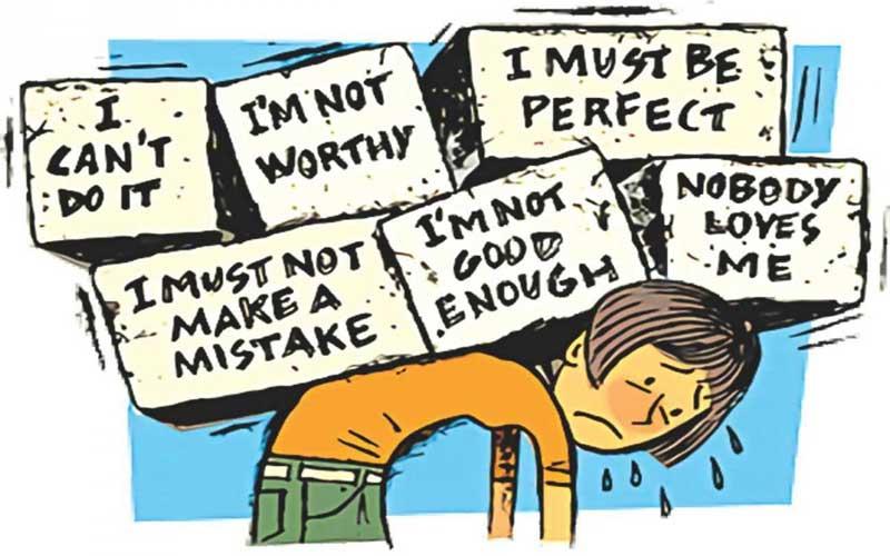 نقش باورهای منفی در شکست