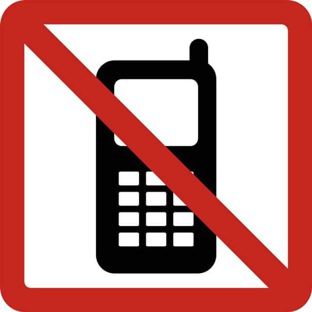 حذف موبایل در انضباط شخصی