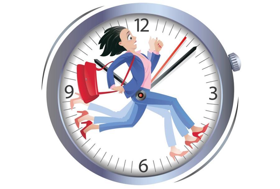 مقابله با کمبود وقت و برنامه ریزی