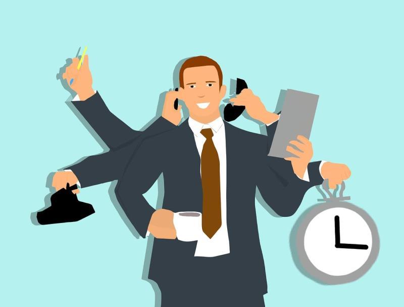 چند وظیفه ای در مدیریت زمان